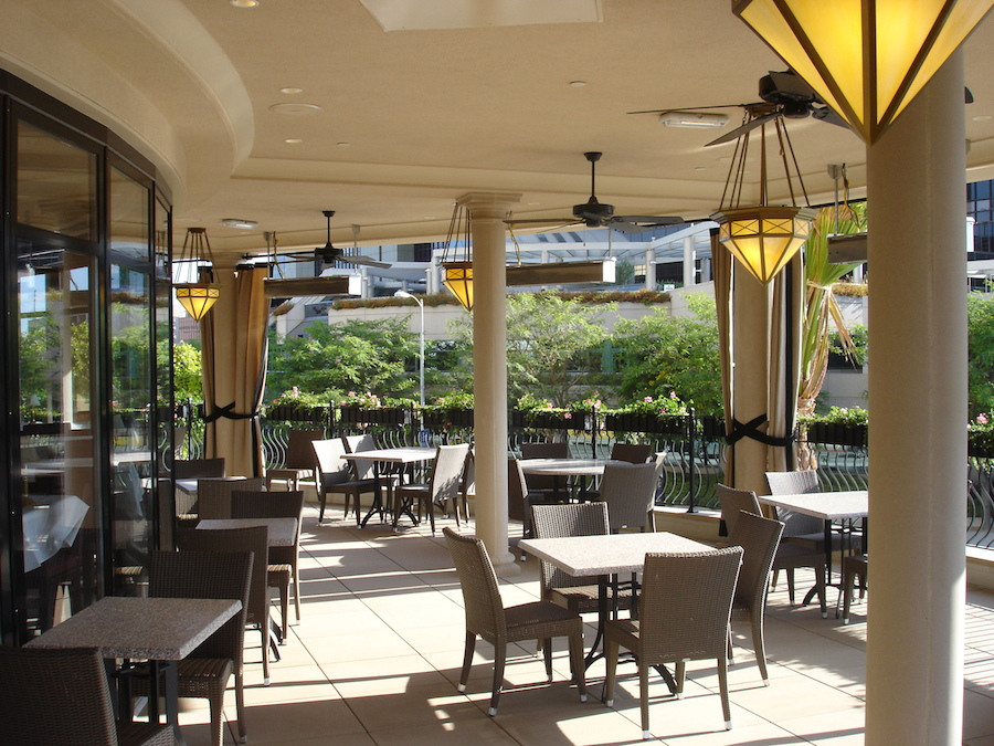 Capital Grille Patio