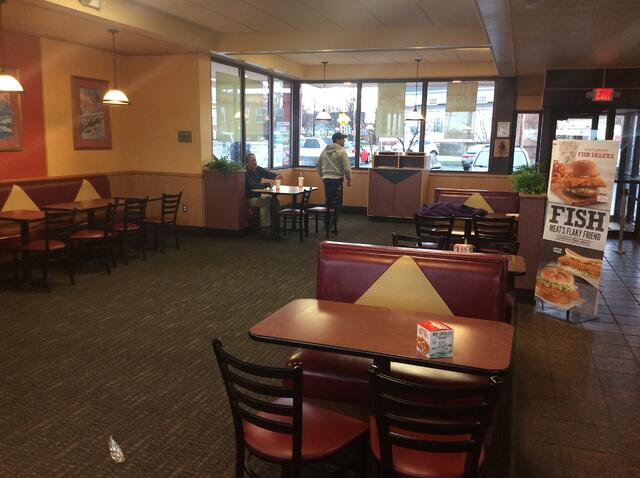 Arbys Interior Dining BEFORE