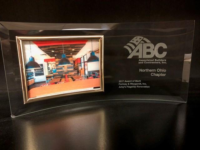 Arby's Merit Award