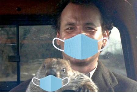 Groundhog Day Masks