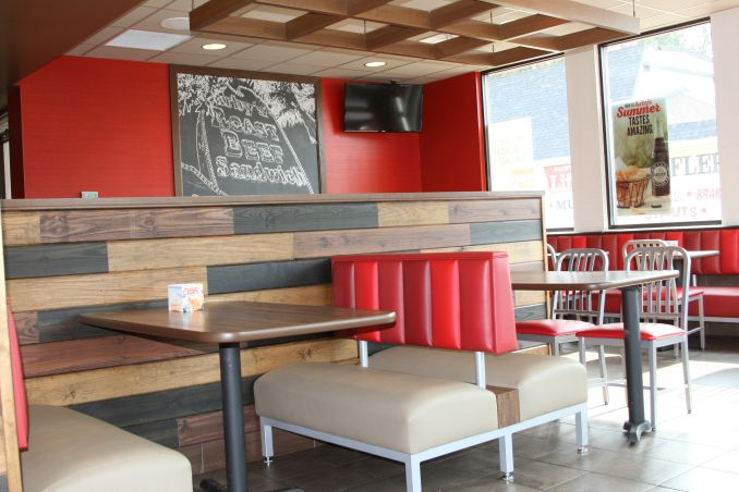 arbys interior dining room shot