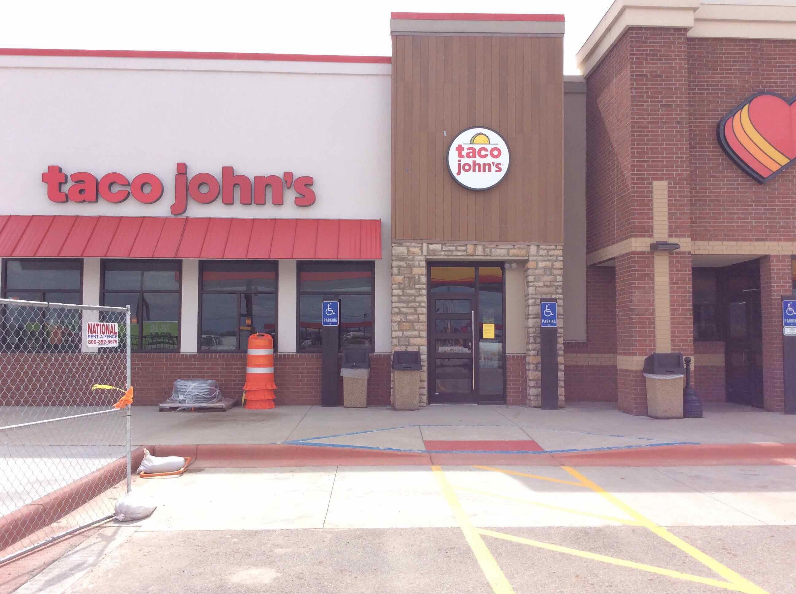 Taco John's exterior shot