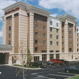 Fortney Weygandt Hampton Inn Completed Project